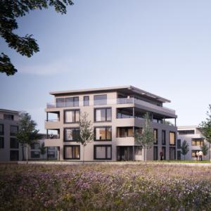 Budynek usługowo-mieszkalny w Riedpark / Lauchringen (Niemcy)- (c) Lignotrend | Architekt Jörg Kaiser (D)