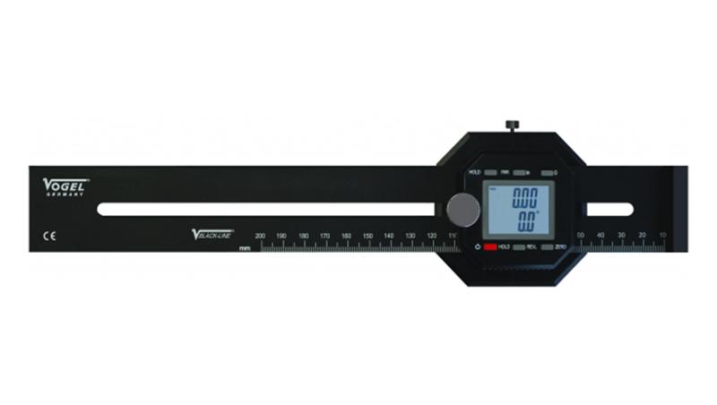 Cyfrowy kątomierz i miernik znakujący, IP40, 200 mm / 8 cali