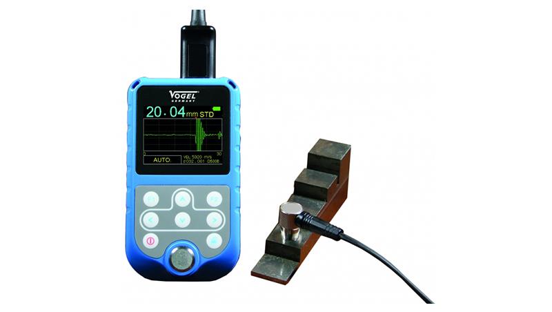 Ultradźwiękowy miernik grubości z systemem Echo-Echo (skan A + B)